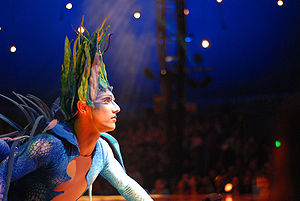 Varekai - One of the characters in the show. Picture taken in Melbourne.