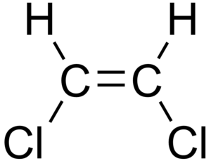 1,2-Dichloroethene - Image: Cis 1,2 dichloroethene