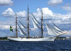 Tall ship - Image: Cisne Branco 07