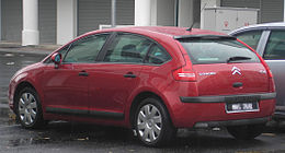 Citroen C4 (first generation) (rear), Serdang.jpg