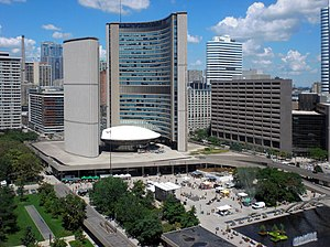 Viljo Revell - New City Hall of Toronto (1966).