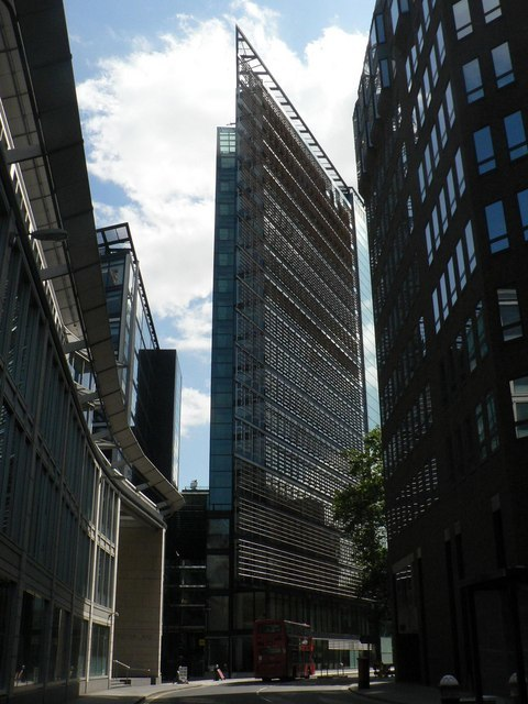 City of London, striking architecture in New Fetter Lane - geograph.org.uk - 865172