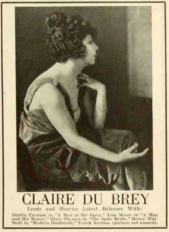 Claire Du Brey - Advertisement (1919)