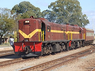 South African Class 32-000 - No. 32-029 and 32-042 at Oudtshoorn, 22 September 2007