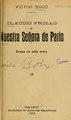 Claudio Frollo, o, Nuestra Señora de Paris - drama en ocho actos (IA claudiofrolloonu00hugo).pdf