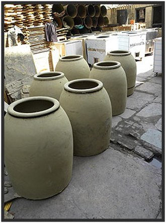 Tandoor - Clay pots and assembly