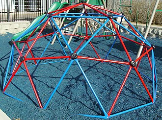 Jungle gym - A home-use dome climber