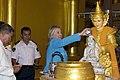 Clinton visits Shwedagon Pagoda.jpg