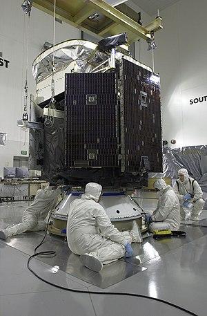 CloudSat - CloudSat at Vandenberg Air Force Base.