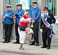 Clowning around outside Barclays - geograph.org.uk - 960698.jpg