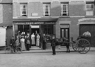 Clun - Clun post office, 1910's