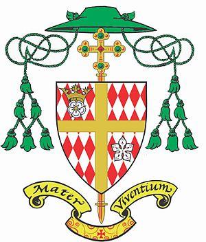 Roman Catholic Diocese of Hamilton, Ontario - Image: Coat of Arms Diocese of Hamilton, Ontario