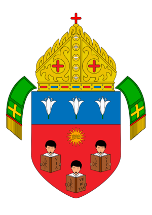 Diocese of Balanga - Arms of the Diocese