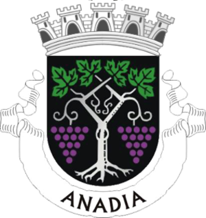 Anadia, Portugal - Image: Coat of arms of Anadia