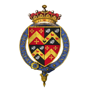 Henry Rich, 1st Earl of Holland - Quartered arms of Sir Henry Rich, 1st Earl of Holland, KG
