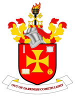 The coat of arms of Wolverhampton City Council