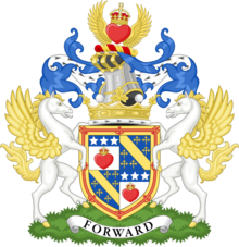 Coat of arms of the marquess of Queensberry.png
