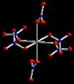 Cobalt(II)-nitrate-xtal-2002-Co1-coordination-CM-3D-ellipsoids.png