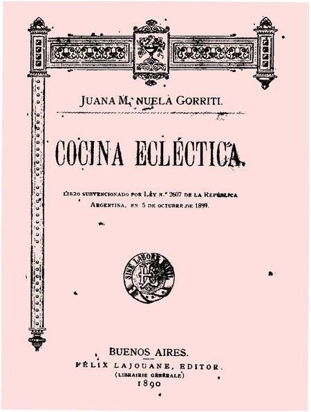 File:Cocina eclectica - Juana Manuela Gorriti.pdf