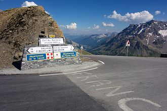 2017 Tour de France - Image: Col du Galibier 3