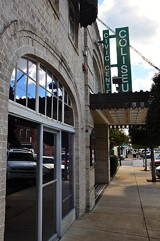 National Register of Historic Places listings in Alcorn County, Mississippi - Image: Coliseum Theatre Corinth MS
