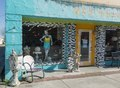 "Colorful, or as one facade calls it, ""funky,"" storefronts in Nederland, Texas, near Port Arthur LCCN2014630820.tif"