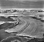 Columbia Glacier, Calving Terminus with Oblique View of Valley Glacier, August 24, 1968 (GLACIERS 1004).jpg
