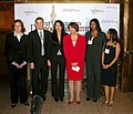 Congresswoman Pelosi and San Francisco's Delegates at the 2004 Youth Summit in Washington D.C.; April 21, 2004.jpg