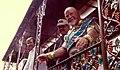 Connie Jones Pete Fountain Mardi Gras Float 1996 crop.jpg
