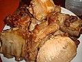 Conserva de carne de cerdo frita.jpg
