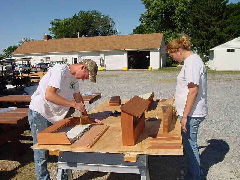 File:Constructing kiosks (6962514457).jpg