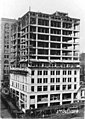 Construction of the William Rust building showing marble work up to seventh floor, Tacoma, October 2, 1920 (WASTATE 3390).jpeg