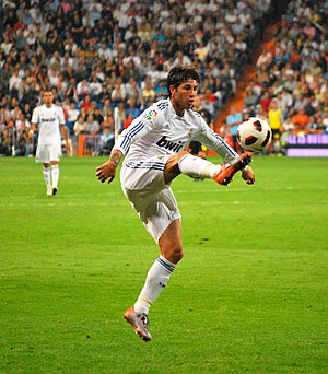 Sergio Ramos - Ramos in action in October 2010.