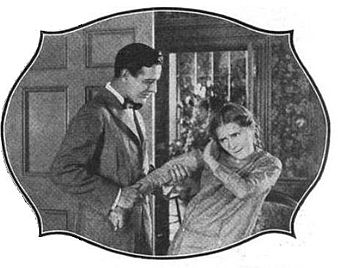 Tearle with Mary Pickford in the silent film Stella Maris (1918) Conway Tearle 4.jpg