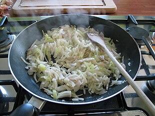 Cottura della cipolla
