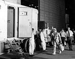 Cooper leaves Hangar S for MA-9 mission (63-MA9-145).jpg