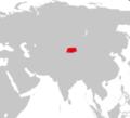 Copia di Range Map Cervus affinis.png