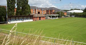 Heath Hayes F.C. - The Coppice Colliery Ground, the club's home