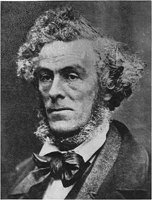 Cornelius Krieghoff - Cornelius Krieghoff photographed by M.O. Hammond.