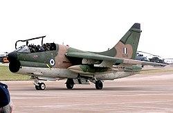 A Görög Légierő TA-7C Corsair II repülőgépe
