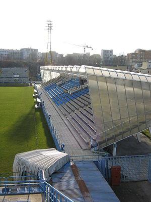 Stadionul Cotroceni - Image: Cotroceni stadium of Bucharest 3