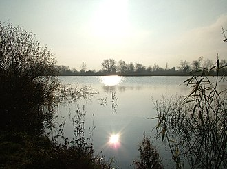 Cotswold Water Park - Atmospheric view of the Cotswold Water Park