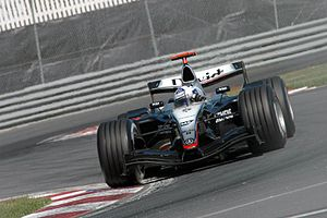 McLaren MP4-19 - Image: Coulthard 2004 Canada