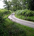 Country road near Waun-gron farm - geograph.org.uk - 1432001.jpg