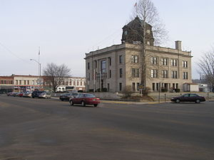 Spencer, Indiana - Owen County Courthouse, Spencer, Indiana
