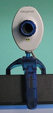A typical webcam