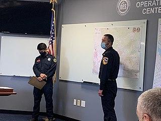 Crews Fire 2020 wildfire in Santa Clara, California