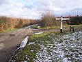 Crossroads near Lower Cousley Wood - geograph.org.uk - 1658556.jpg