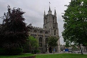 Croydon Minster - Croydon Minster from the North East