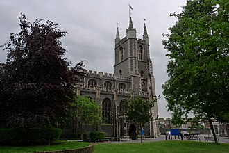Croydon Minster - Croydon Minster from the North East